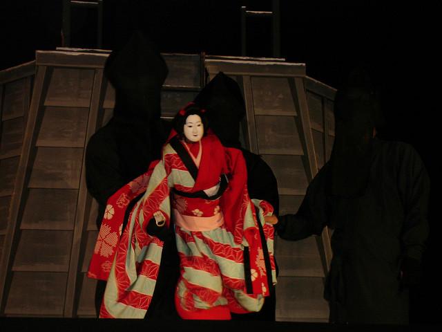 Bunraku, el teatro de marionetas