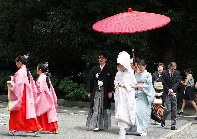 Bodas tradicionales en Japón