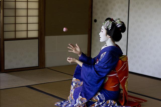 Sentarse en Seiza, algo muy japonés