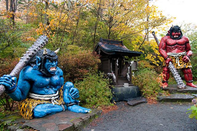 Oni, los ogros del folclore japonés