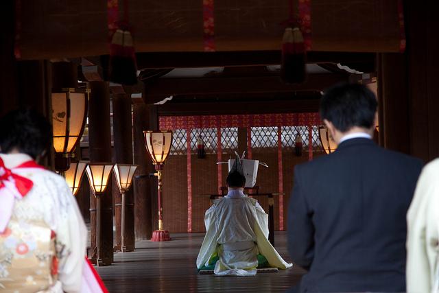 Omiyamairi, bautismo a la japonesa