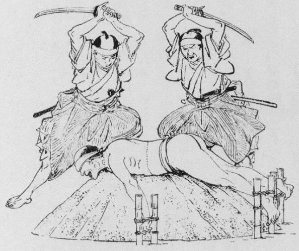 Tameshigiri, probando la espada samurai