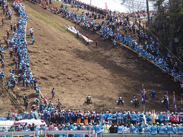 Onbashira Matsuri, un festival antiguo e intenso