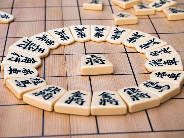 Piezas de shogi
