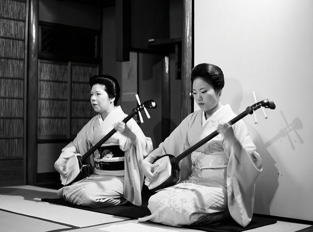 El Shamisen, un instrumento clásico de Japón
