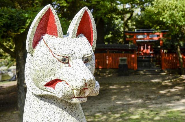 Kitsune (狐) El zorro del folclore japonés