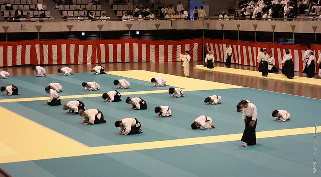 Práctica de aikidō - Foto de: Ignat Gorazd