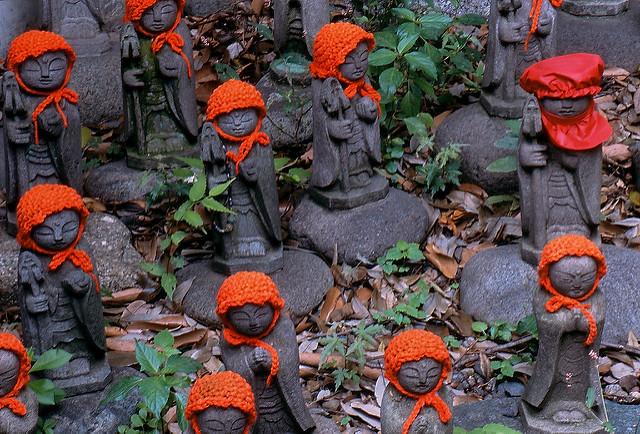 Las estatuas Jizō