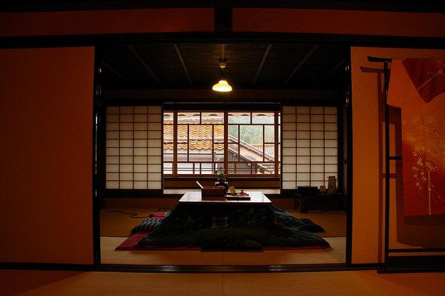 Las mesas Kotatsu