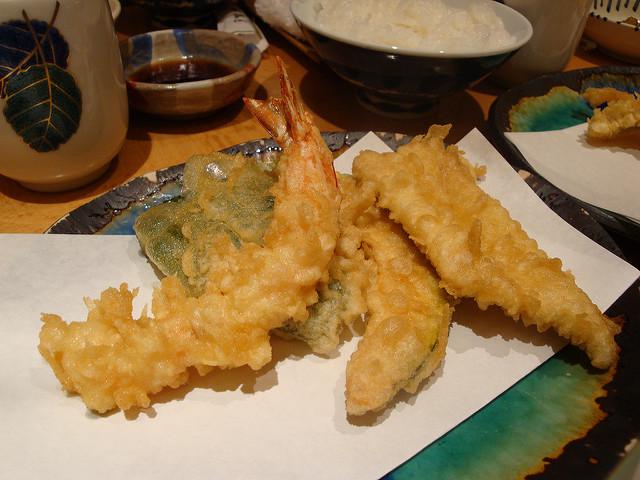Tenpura, frituras al estilo japonés