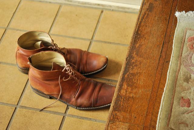 La costumbre de quitarse los zapatos en Japón